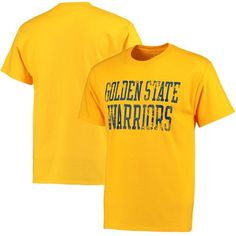 Golden State Warriors Straight Out NBA T-Shirt - Gold - $16.99