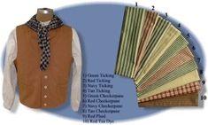 Bandana / Wild Rag / Neck Scarf - 1870s on, 19th Century (1800s) Men's Clothing