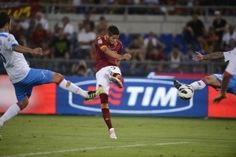 Nico Lopez pounds in the equalizer in added time ROMA-CATANIA (2-2) Aug 26 2012