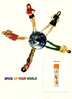 And body spray. | 43 Reasons Why The Spice Girls Are The Best Girl Group Of All Time