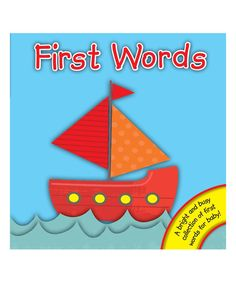 This adorably illustrated board book gives your little reader an ideal start to the world of words and pictures. Word Board, Board Book, Toddler Books, One Word, Bright, Boards, Education, Illustration, Pictures