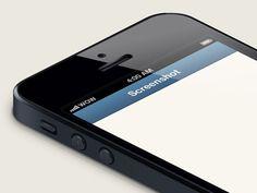 iPhone 5 Isometric Template by Martin Kool