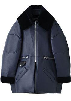 Acne Studios   Major Oversized Leather Jacket   La Garçonne