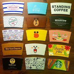 컵홀더 - Google 검색 Craft Packaging, Coffee Packaging, Packaging Design, Branding Design, Coffee To Go, Coffee And Books, Coffee Shop, Coffee Drinks, Coffee Cups