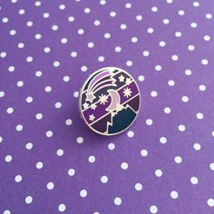 Night Sky Enamel Pin Badge | hand over your fairy cakes