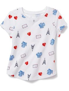 Allover Floral Tee for Baby Product Image