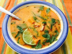 Thai Chicken Curry Soup