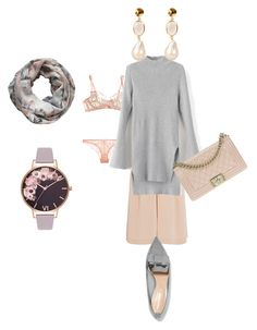 """""""Day Wear"""" by jamesj0618 on Polyvore featuring L'Agent By Agent Provocateur, Agent Provocateur, Alva-Norge, TIBI, Chanel, Nicholas Kirkwood and Olivia Burton"""