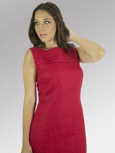 Vestido Gaviota #moda #lino #FW2014 www.abito.com.mx