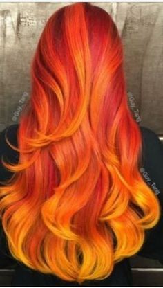 25 Beautiful Red Ombre Hair Gorgeous Red Ombre Hair Styles You Know You Want To Try ★ See more: love Dyed Hair Ombre, Ombre Blond, Dyed Hair Blue, Dyed Blonde Hair, Ombre Hair Color, Cool Hair Color, Orange Ombre Hair, Hair Colour, Bright Hair Colors