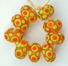 Hey, I found this really awesome Etsy listing at https://www.etsy.com/listing/228961185/yellow-and-orange-spotty-dotty-handmade
