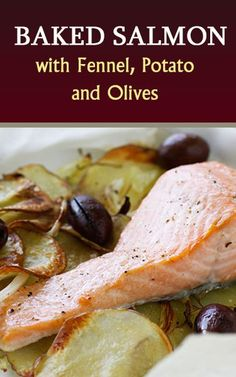 Baked salmon, Salmon and Heroes on Pinterest