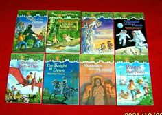 Magic Tree House Starter Set 1-8 Chapter Books 2nd 3rd Grade Teachers Magic Treehouse, Chapter Books, Guided Reading, See Picture, Childrens Books, Classroom, Collections, Baseball Cards, History
