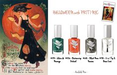 http://www.pritinyc.com/Priti-Halloween-Kit_p_1107.html #halloween #nailart #trickortreat #nailpolish #mani #naildesign #halloweennails