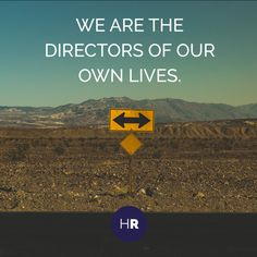 We are the directors of our lives #SocialQuotes #Islam #Muslim #Entrepreneurship #Insipiration