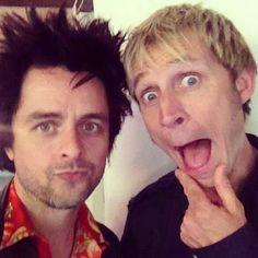 Green Day - Billie Joe Armstrong & Mike Dirnt