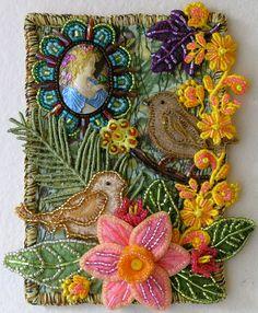 """A Little Birdie Told Me"" Postcard"