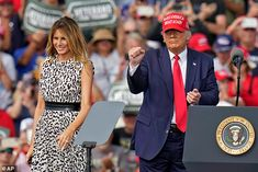Melania Trump would praise Donald after every rally to 'elevate' him | Daily Mail Online