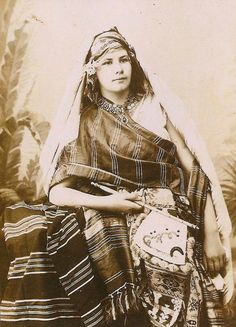 Swiss explorer and writer Isabelle Eberhardt at age 18 in Algeria. From the book Women Travelers: A Century of Trailblazing Adventures, 1850–1950.