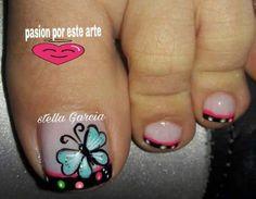 Pedicure Nails, Toe Nails, Manicure, Christmas Nail Art, Eyeliner, French Nails, Pretty Nails, Hair Beauty, Tattoos