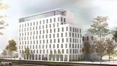 München: SIGNA kauft Projektgrundstück in der Landshuter Allee von PAMERA und E.T. MYER. Bild: HPP Architekten http://deal-magazin.com/news/66011/SIGNA-kauft-Projektgrundstueck-in-Muenchen-von-PAMERA-und-ET-MYER?