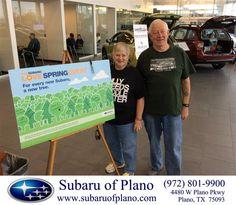 Congratulations to Robert And Nancy Burger on your #Subaru #XV Crosstrek purchase from Bill Burke at Subaru of Plano! #NewCar