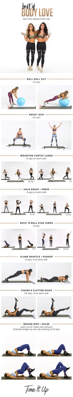 Best of BODY LOVE Mashup Workout on ToneItUp.com