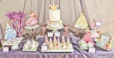 Princess Party Table #princessparty #table