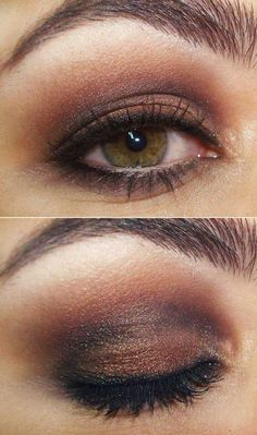 Brown Eyes, this is my FAVORITE all time look, super easy once you learn how to do it!