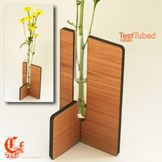 Flower vase #lasercut