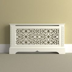 This radiator cover, with its intricate laser-cut design, is perfect for country-inspired schemes. Bespoke versions of this design are also available. This radi...