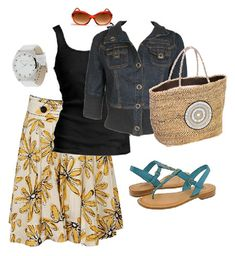 """Thanks, Kristie! This is the perfect summer outfit...inspiration for looking """"put together"""" this summer!"""