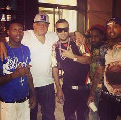 Lil Durk , Sean Pecas , French Montana & Wale