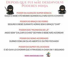 Super Mãe, Super Ninja, Mãe Coruja! Conheces alguém igual? www.amaesoueu.com #AMãeSouEu #maternidade #maebabada #maedeprimeiraviagem #mae #mãe #maecoruja #insta #instagram #instame #instablog #blog #blogger #blogmaterno
