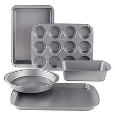 Cooks 5 Piece Non Stick Bakeware Set ... (This is an affiliate link) #bakewaresets
