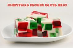The Food Librarian: Christmas Cool Whip Jello / Gelatin