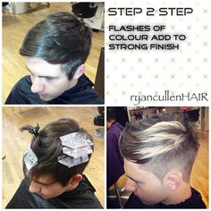 In phases... Three diff stages! Strong finish ✂