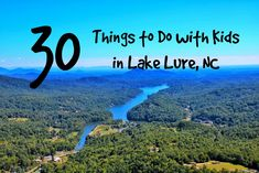 Wondering what to do with kids in Lake Lure? Here are 30 ideas for Lake Lure, Chimney Rock, and the Blue Ridge Foothills of North Carolina! Lake Lure North Carolina, North Carolina Hiking, North Carolina Vacations, North Carolina Mountains, Nc Waterfalls, Best Vacations, Family Vacations, Capitol Reef National Park, Lake Resort