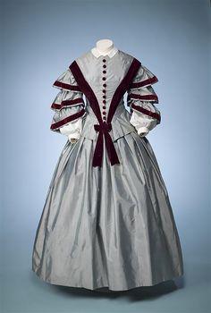 Dress, 1850 - 1855, Netherlands