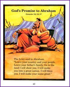 God's Promise to Abraham (Story)- Kids Korner - BibleWise
