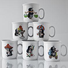 The Mole called Krtek Fan Art: Krtek - Mug The Mole, Old Toys, Kids And Parenting, Tea Pots, Clay, Fan Art, Ceramics, Mugs, Disney