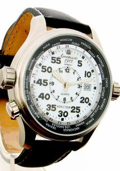 cef4854b91a Aeromatic 1268A World Tour Unusual Watches