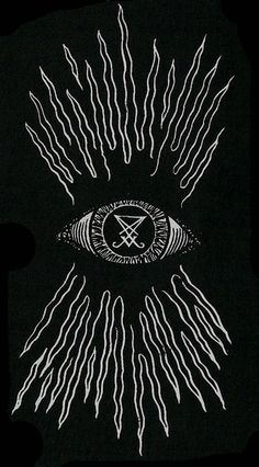 Appears to be an all-seeing eye with a talisman (sigil of Lucifer) in the center radiating out rays of power. Gravure Illustration, Illustration Art, Magick, Witchcraft, Satanic Art, Arte Obscura, Medical Symbols, Tatoo, Spiritism