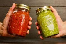 Такое грех не закрыть! Вам красную или зелёную? - Жемчужинка Ketogenic Recipes, Keto Recipes, Cooking Recipes, Home Canning, Beverages, Drinks, Preserves, Deserts, Jar