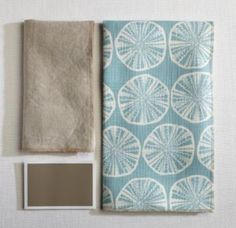 Teal Fabric Coordination | #MaineCottage
