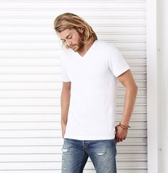 74c9ec0dde Bella + Canvas 3005 Unisex Jersey Short-Sleeve V-Neck T-Shirt