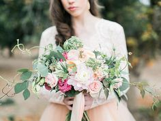 Wedding beauty inspiration from the Becoming workshop