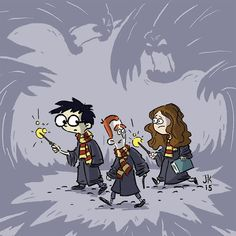Harry, Ron, and Hermione. I was half way through Wednesday's drawing when I realized it was Wizarding Wednesday. So I tried to make up for it by spending some extra time on today's drawing. #harry #harrypotter #ronweasley #hermionegranger #theboywholived #wizardingwednesday #digitalart #dailydrawing #jkrowling #cartoon