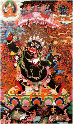 Commission authentic Thangka paintings, Tibetan mandalas, Himalayan masks, Hindu and Buddhist works of art created by the artists of a lovely community in Nepal Tibetan Mandala, Tibetan Art, Tibetan Buddhism, Tibetan Symbols, Vajrayana Buddhism, Thangka Painting, Buddha Art, Samurai Art, Hindu Art
