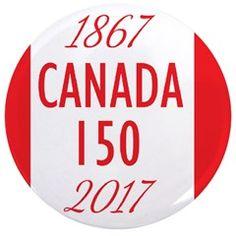 Canada 150 Button